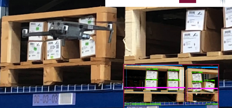 Failsafe Autonomous Drone Based Warehouse Check Beyond Visual Line of Sight