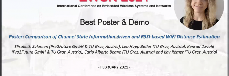 EWSN2021 Best Poster Award
